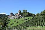 Genießen Sie bei einem Besuch im Burgmuseum Archeo Norico den Panoramablick auf der Aussichtsplattform.